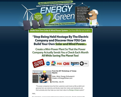 Build Your Own Wind & Solar Power System