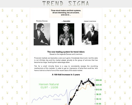 Trend Sigma – Trading System