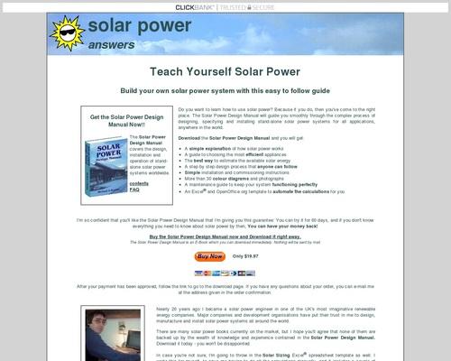 Teach Yourself Solar Power – Solar Power Answers